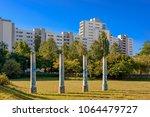 social hotspot  theodor wolff... | Shutterstock . vector #1064479727