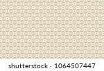golden geometric pattern  part...   Shutterstock .eps vector #1064507447