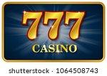 casino 777 advertising  big win ... | Shutterstock .eps vector #1064508743