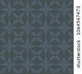 seamless arabic ornament. hand... | Shutterstock .eps vector #1064547473