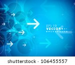 hi tech abstract background.... | Shutterstock .eps vector #106455557
