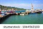 port blair  andaman  india ... | Shutterstock . vector #1064563103