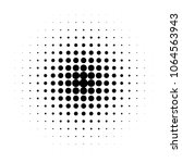 circle in halftone  halftone... | Shutterstock .eps vector #1064563943