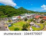 uturoa  raiatea  french... | Shutterstock . vector #1064575007