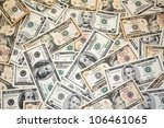 Dollar Banknotes - stock photo