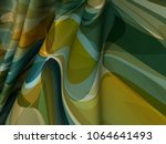 beautiful color satin fabric... | Shutterstock . vector #1064641493
