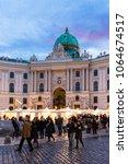 vienna  austria   december 31 ... | Shutterstock . vector #1064674517