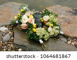 floristry for a wedding ceremony | Shutterstock . vector #1064681867