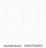 seamless linear pattern with... | Shutterstock .eps vector #1064724653