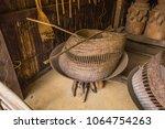 fishing equipment and kitchen...   Shutterstock . vector #1064754263