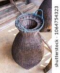 fishing equipment and kitchen...   Shutterstock . vector #1064754323