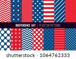 independence day vector... | Shutterstock .eps vector #1064762333
