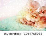 beautiful roses background | Shutterstock . vector #1064765093