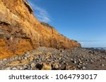 cliffs along of the cayola... | Shutterstock . vector #1064793017