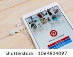 sankt petersburg  russia  april ... | Shutterstock . vector #1064824097
