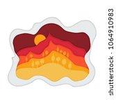 vector illustration of a... | Shutterstock .eps vector #1064910983