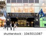 new york city  usa   october 30 ... | Shutterstock . vector #1065011087