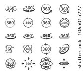 360 degree views of vector... | Shutterstock .eps vector #1065015227