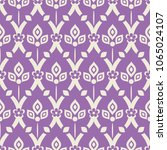 seamless pattern with abstract... | Shutterstock .eps vector #1065024107