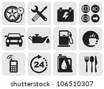 auto icons | Shutterstock .eps vector #106510307