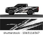 truck graphic. abstract tech...   Shutterstock .eps vector #1065116567