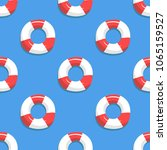 seamless sea pattern. marine... | Shutterstock .eps vector #1065159527