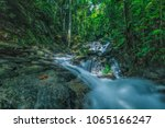 outdoor beauty nature waterfall ... | Shutterstock . vector #1065166247