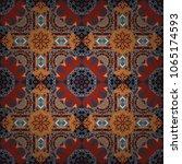 vibrant style pattern.... | Shutterstock .eps vector #1065174593