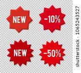 element design red bubbles ... | Shutterstock .eps vector #1065243527