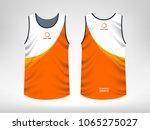 sleeveless sport t shirt design   Shutterstock .eps vector #1065275027