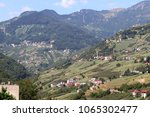 mountain village in turkey.... | Shutterstock . vector #1065302477