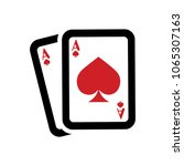 playing card illustration  ... | Shutterstock .eps vector #1065307163