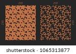 laser cutting set. woodcut...   Shutterstock .eps vector #1065313877