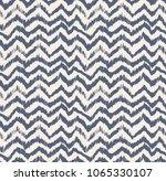 ikat seamless pattern. vector...   Shutterstock .eps vector #1065330107