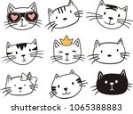 Vector Illustration Of Cat On...