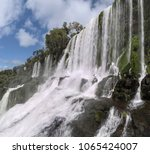 iguazu falls  argentina  brazil | Shutterstock . vector #1065424007