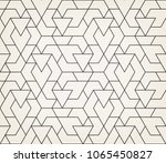 abstract geometric pattern with ... | Shutterstock .eps vector #1065450827