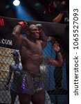 Small photo of Alain Ngalani of Cameroon on One Championship IRON WILL on March 24, 2018 in Bangkok, Thailand