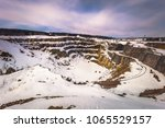 the open air copper mine of... | Shutterstock . vector #1065529157