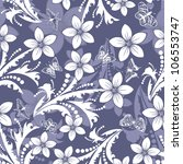 seamless floral pattern. for... | Shutterstock . vector #106553747
