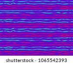 funky curved stripes horizontal ... | Shutterstock .eps vector #1065542393
