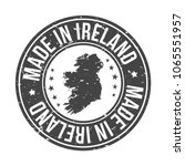 made in ireland quality... | Shutterstock .eps vector #1065551957