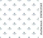 tv debate pattern vector... | Shutterstock .eps vector #1065613163