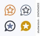 star notification   outline  ... | Shutterstock .eps vector #1065656003