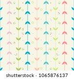 abstract seamless pattern | Shutterstock .eps vector #1065876137