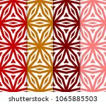 set of seamless geometric... | Shutterstock .eps vector #1065885503