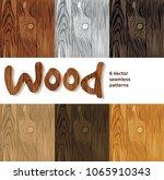 wood background seamless...   Shutterstock .eps vector #1065910343