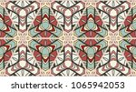 colorful seamless triangle... | Shutterstock .eps vector #1065942053