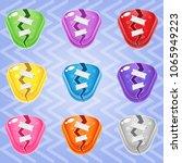 sweet candy match3 triangle...