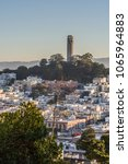 coit tower city of san francisco | Shutterstock . vector #1065964883